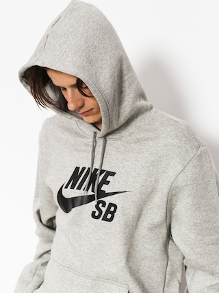Bluza z kapturem Nike SB Sb Icon HD (dk grey heather/black)