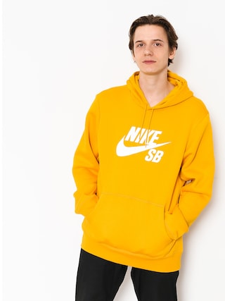 Bluza z kapturem Nike SB Sb Icon HD (yellow ochre/white)