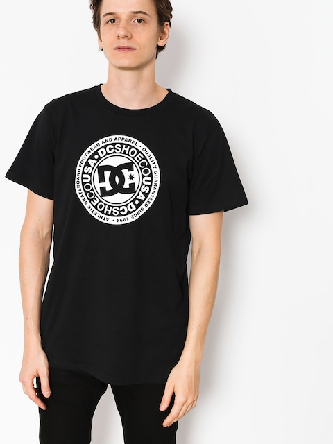 T-shirt DC Circle Star (black)