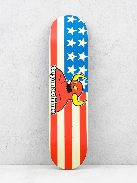 Deck Toy Machine American Monster (white/red/blue)