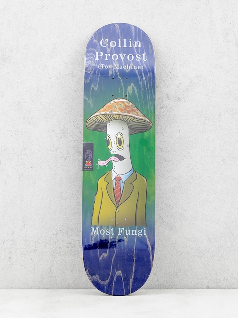 Deck Toy Machine Provost Fungi (navy/green)