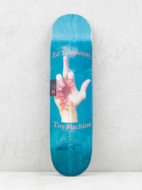 Deck Toy Machine Templeton Flip (teal)