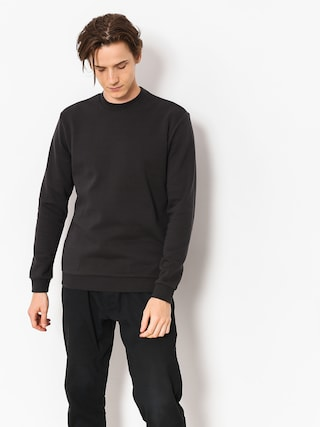 Bluza Brixton Basic Crew (washed black)