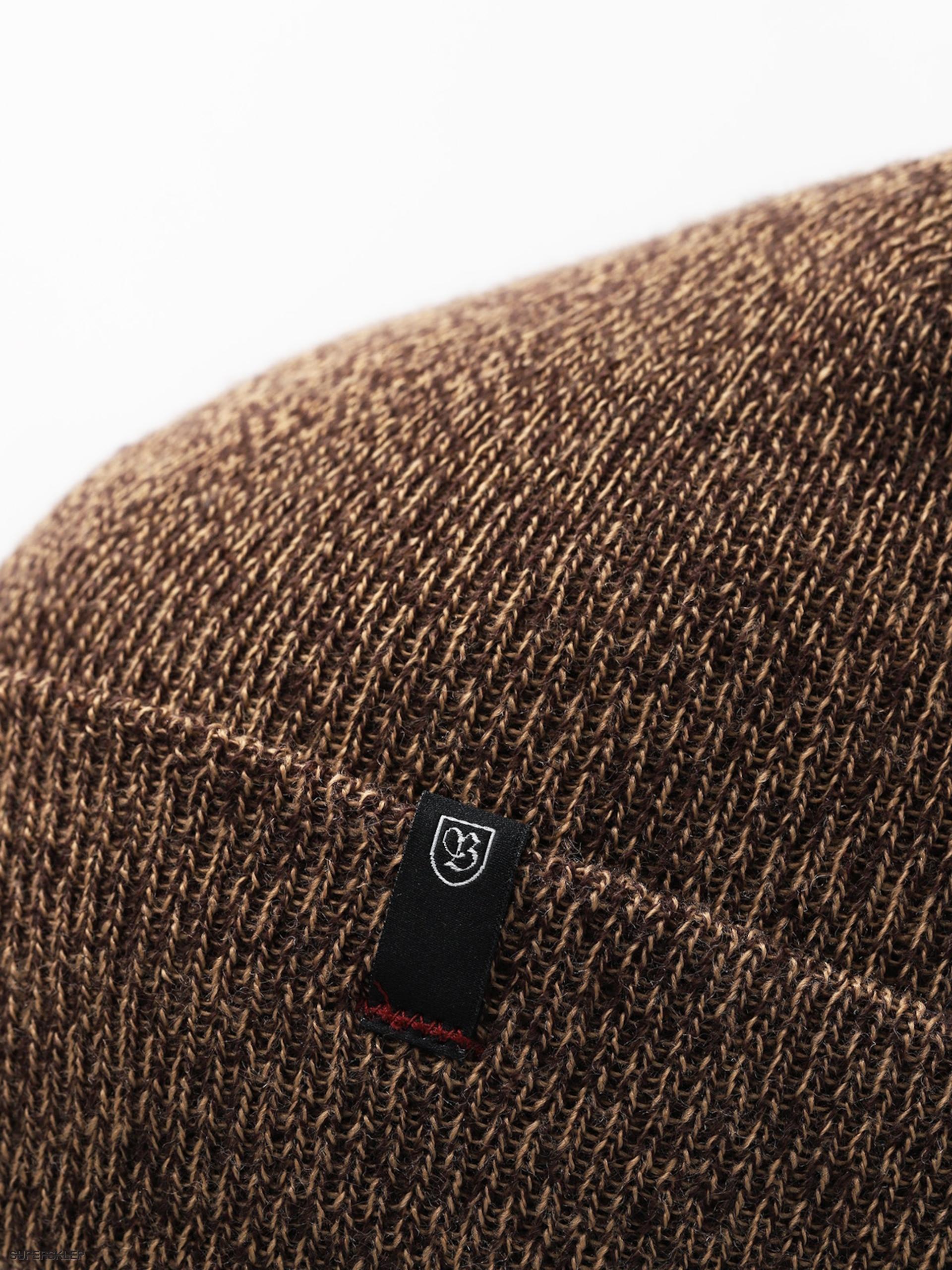 a5fd693fa0b23 Czapka zimowa Brixton Morley Watch Cap Beanie (brown tan)