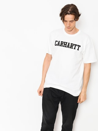 T-shirt Carhartt WIP College (white/black)