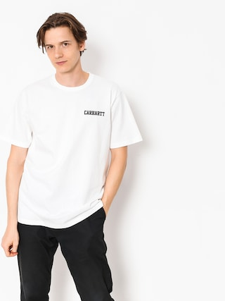 T-shirt Carhartt WIP College Script (white)