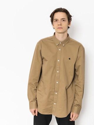 Koszula Carhartt WIP Madison Ls (leather/black)