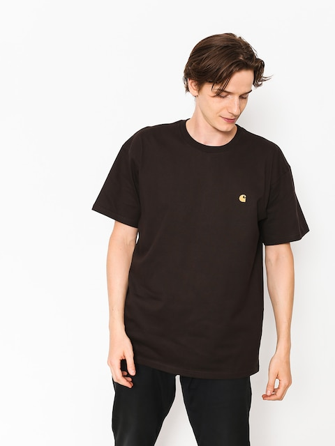 T-shirt Carhartt WIP Chase (tobacco/gold)