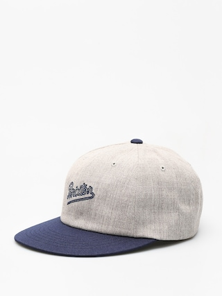 Czapka z daszkiem Brixton Hammond Snap (light heather grey/navy)