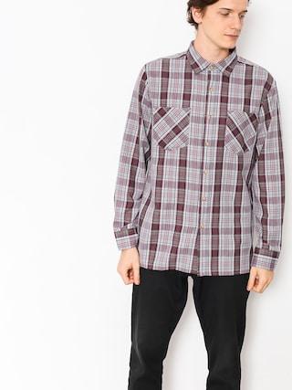 Koszula Brixton Campbell LS (grey/red)
