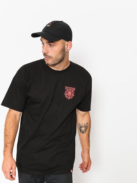 T-shirt Spitfire Nocturnus (black/red)