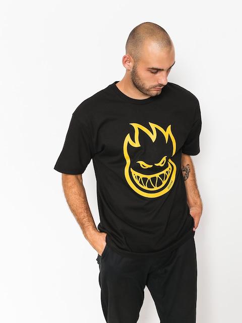 T-shirt Spitfire Bighead (black/mustard)