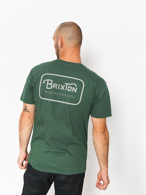 T-shirt Brixton Grade Stt (forest green)