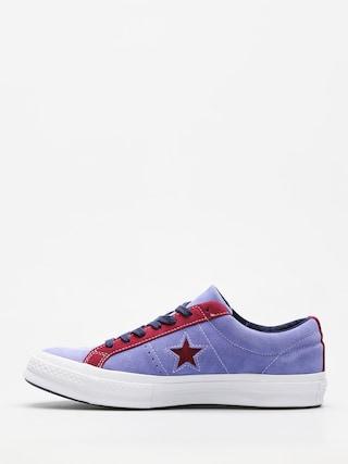 Trampki Converse One Star Ox (deep periwinkle/rhododenron)