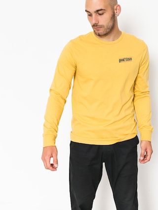 Longsleeve Brixton Time Prem (washed yellow)