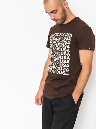 T-shirt DC Work Hard (coffee bean)