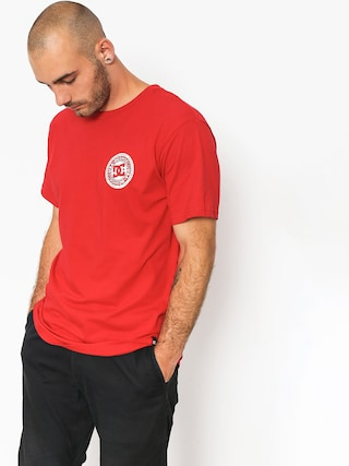 T-shirt DC Circle Star Fb (tango red)