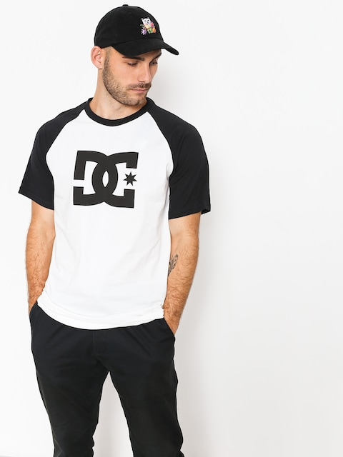 T-shirt DC Star Raglan (black/snow white)