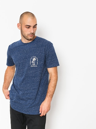 T-shirt Quiksilver Glady Our E Back (medieval blue heathe)