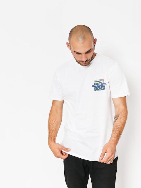 T-shirt Quiksilver Tropic Erupt (white)