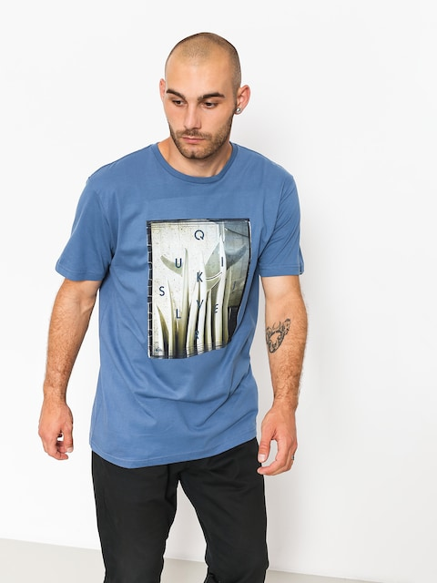 T-shirt Quiksilver Quiv Central (bijou blue)