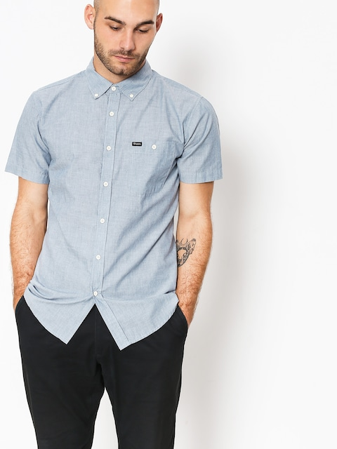 Koszula Brixton Central (light blue chambray)