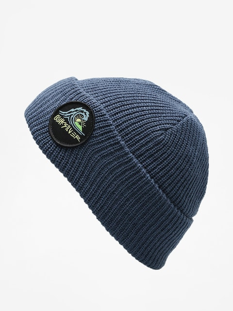 Czapka zimowa Quiksilver Performed Patch 2 Beanie (dark denim)