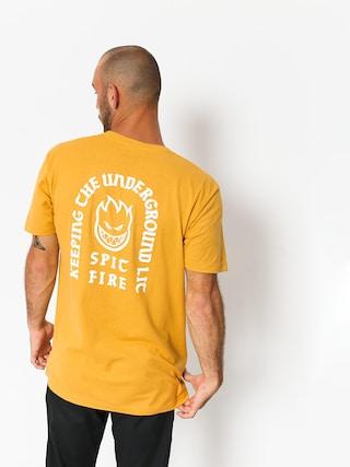 T-shirt Spitfire Stdy Rckn Bghd (mustard)