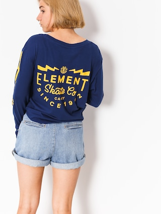 Longsleeve Element Zap Wmn (boise blue)