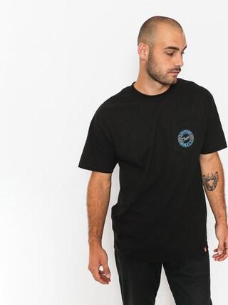 T-shirt Spitfire Flyng Clsc Pkt (black/blue)
