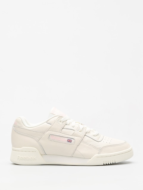 Buty Reebok Workout Lo Plus Wmn (vintage white/practical pink)