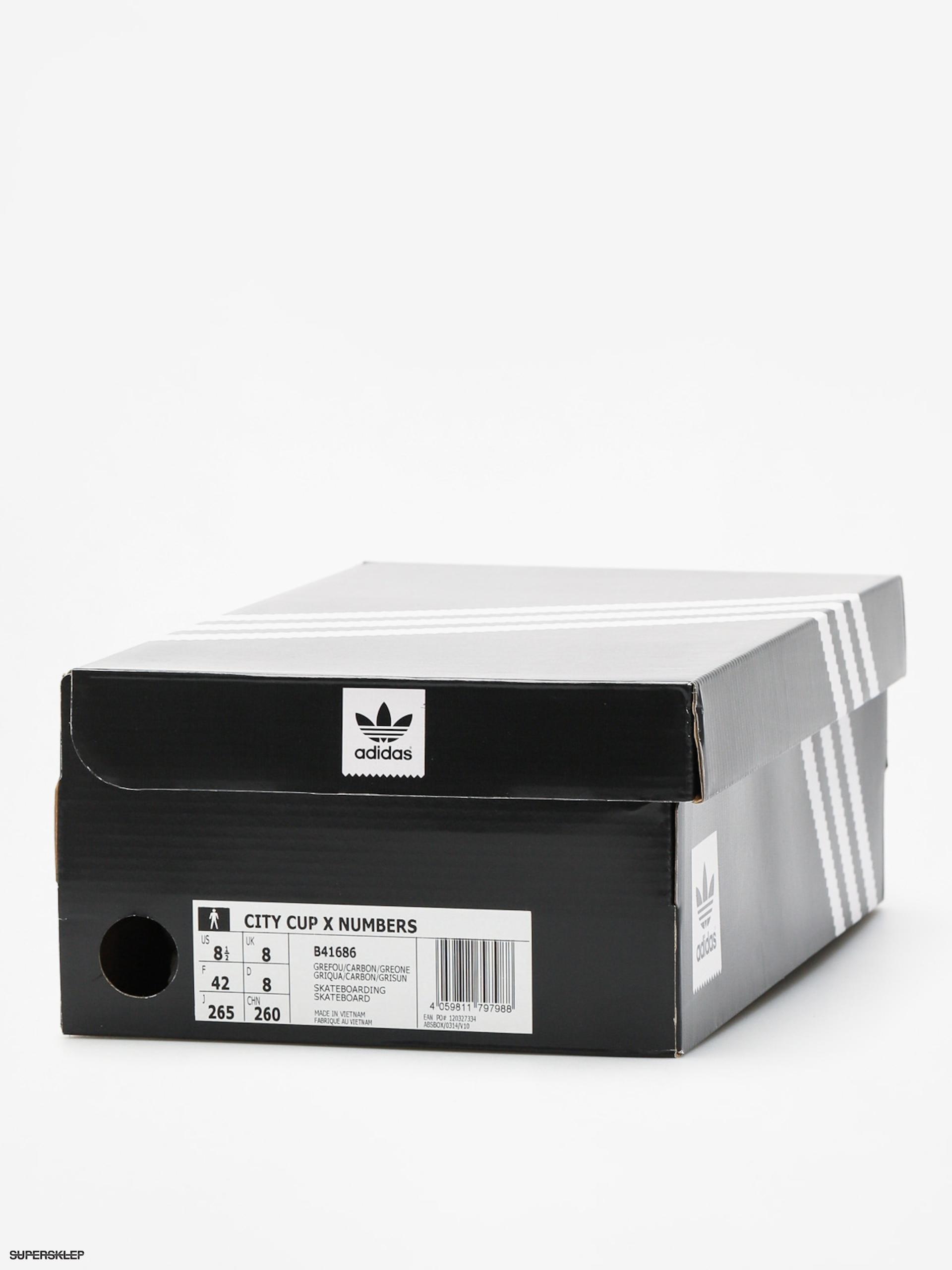 adidas city cup x nombre buty 5 carbon gris, gris, carbon gris, un f 007049