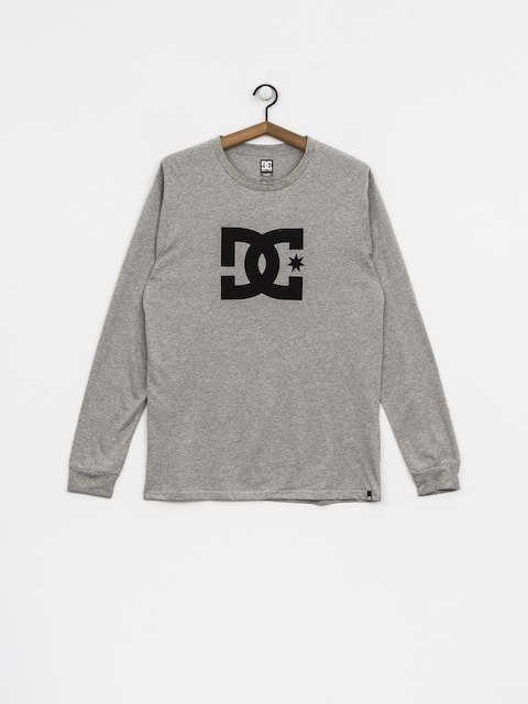Longsleeve DC Star (grey heather)