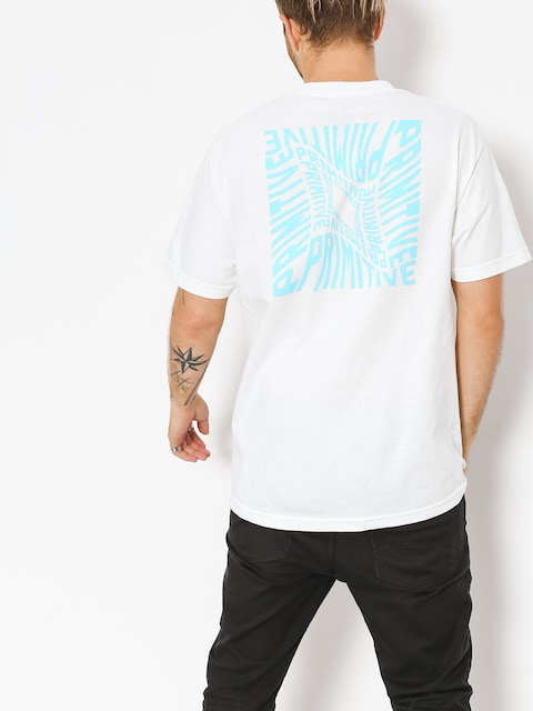 T-shirt Primitive Warped Pocket (white)