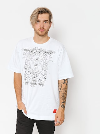 T-shirt Stoprocent Vinci (white)