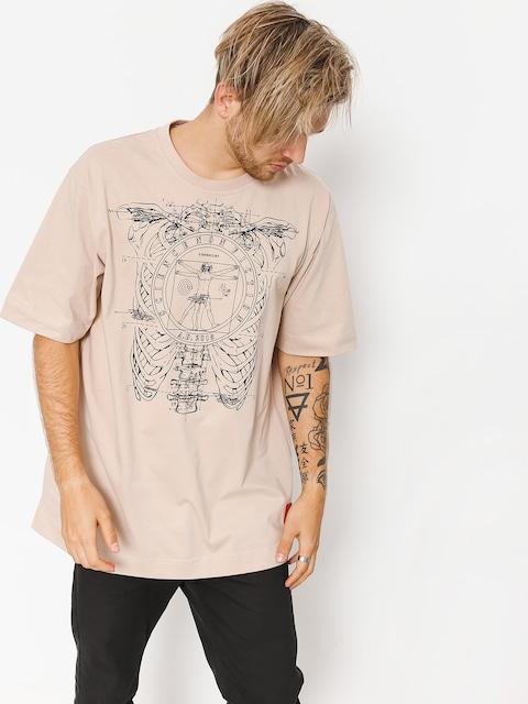T-shirt Stoprocent Vinci (beige)