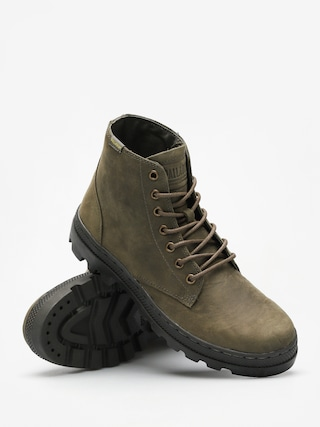 Buty Palladium Pallabosse Mid (olive night/beluga)