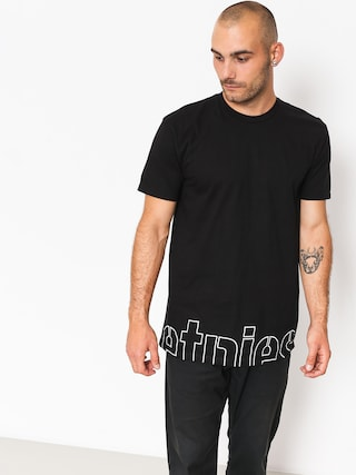 T-shirt Etnies Stencil Crop (black)