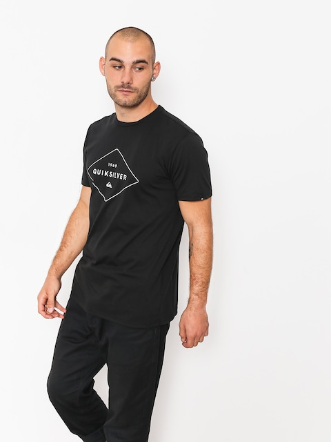 T-shirt Quiksilver Fluid Flow (black)