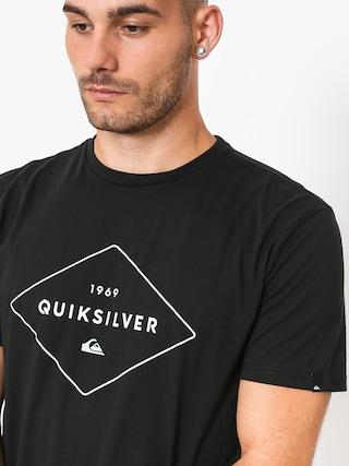 T-shirt Quiksilver Fluid Flow (black)