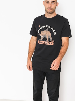 T-shirt Quiksilver Bear Shark (black)