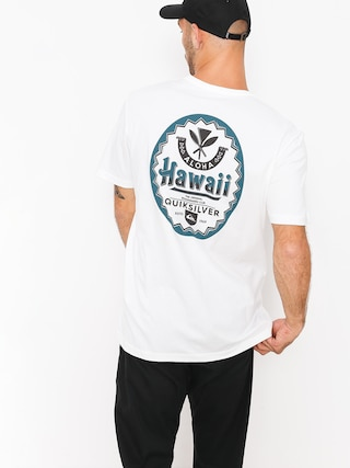 T-shirt Quiksilver Hibeer Tee (white)
