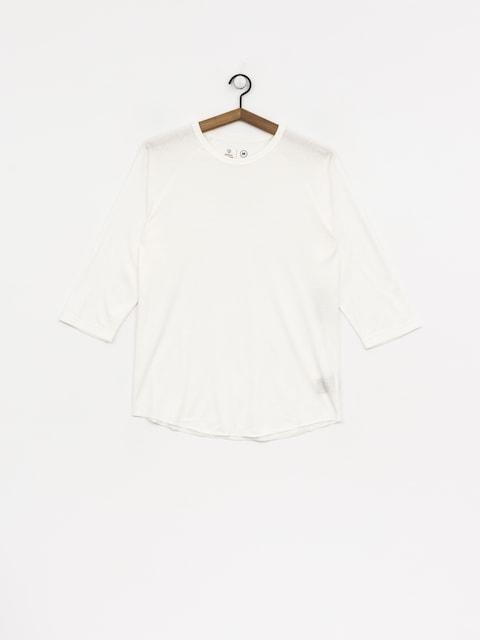 Koszulka Brixton Basic 3I4 Baseball (off white)
