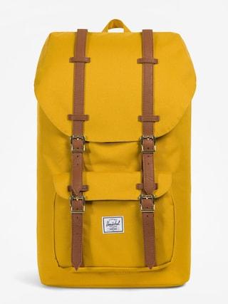 Plecak Herschel Supply Co. Little America (arrowwood/tan synthetic leather)
