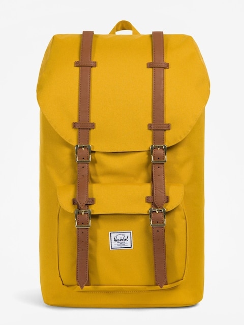 Plecak Herschel Supply Co. Little America (arrowwood/tan synthetic leather)