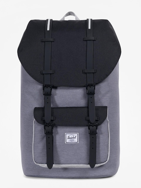 Plecak Herschel Supply Co. Little America (mid grey crosshatch/black/light grey crosshatch)