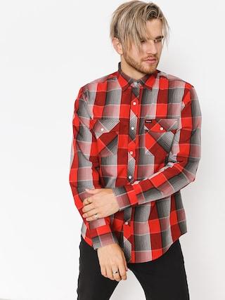Koszula Brixton Wayne LS (red/grey)