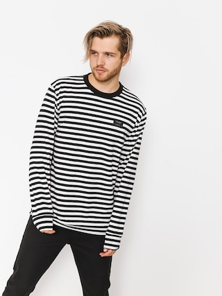 Longsleeve The Hive Stripes 2 (black/white)