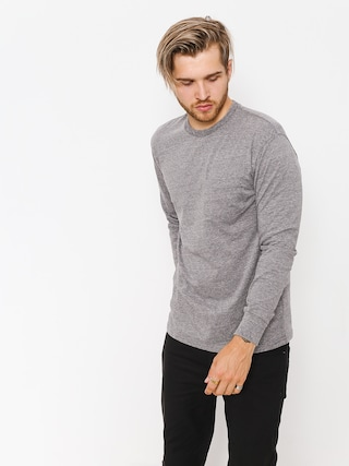 Longsleeve Brixton Basic LS Pkt (heather grey)