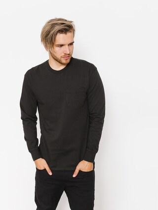 Longsleeve Brixton Basic LS Pkt (washed black)